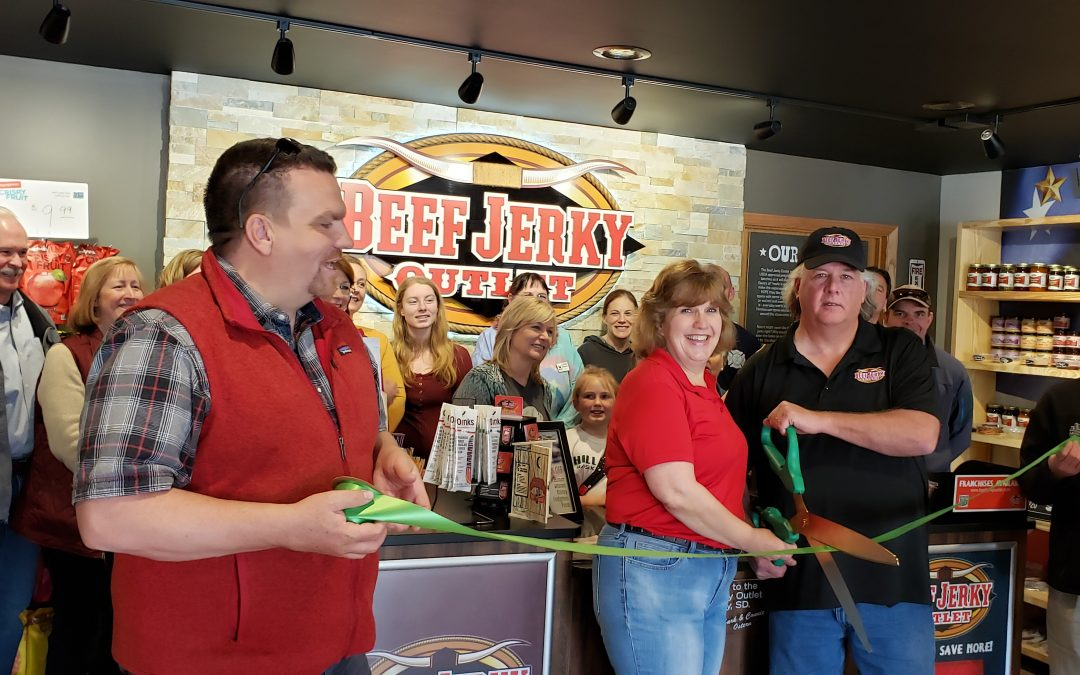 Beef Jerky Outlet Celebrates Ribbon Cutting